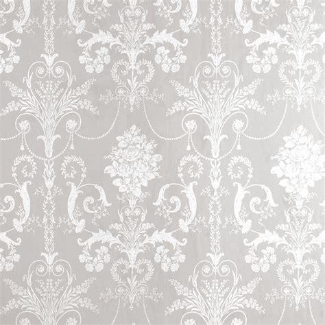 grey victorian wallpaper josette white dove grey damask wallpaper at laura ashley