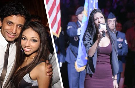 M. Night Shyamalan's Daughter Crushes The National Anthem ... M Night Shyamalan Daughters