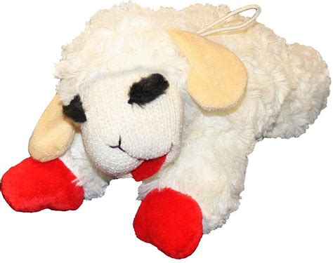 puppy toys multipet chop plush regular chewy