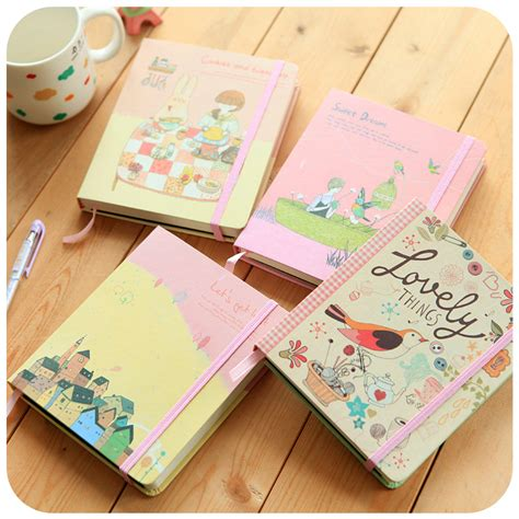 8 Adorable Stationery Kits by Aliexpress Buy Ymlp Notebook Korea School Supplies