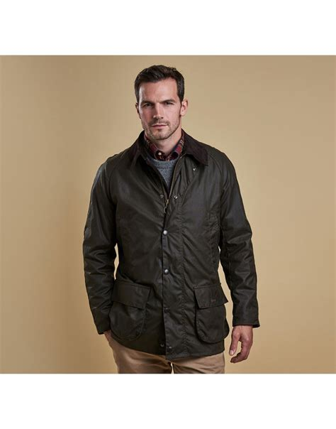 men s barbour men s bristol wax jacket olive country attire