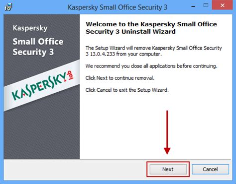 kaspersky reset number of incurable objects how to uninstall kaspersky small office security 3 for