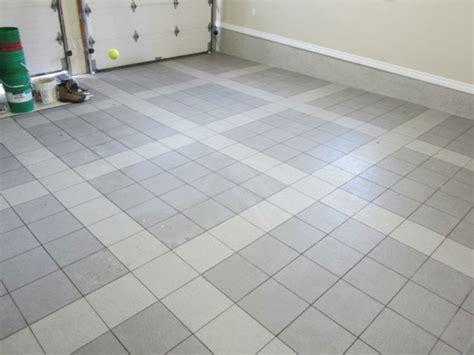 porcelain tile for garage floor
