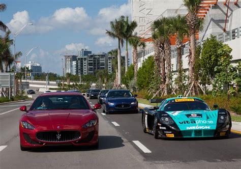 Maserati Of Miami by Maserati Mc12 Corsa Takes A Ride Drive In Miami