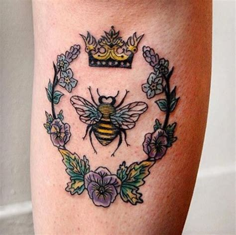 tattoo of queen bee 40 buzzin bee tattoo designs and ideas queen bee tattoo