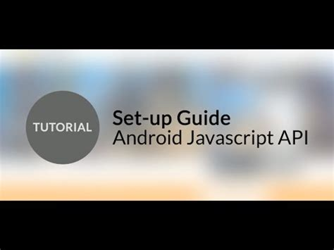 tutorial javascript android wikitude tutorial javascript sdk for android youtube