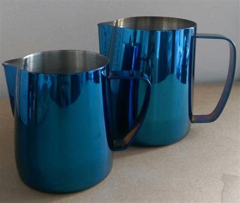 Premium Barista Milk Pitcher 250 Ml coffee omega milk pitcher blue 600ml coffee omega uk ltd