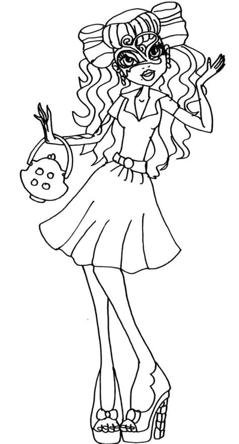 monster high operetta coloring pages pictures monster operetta coloring pages monster high