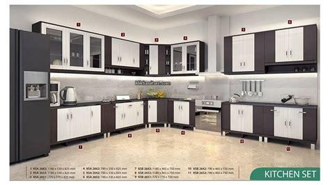 Kitchen Set Atas ksa 2653 kitchen set atas 3 pintu anata graver