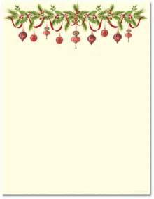 Christmas stationery printer paper beautiful christmas letterhead