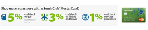 Sam S Club Gas Gift Card - sam s club mastercard review 5 cash back on gas purchases on the first 6 000 spent