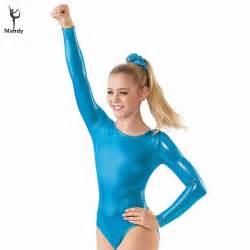 Girls Shiny Dance Leotards   aliexpress com buy mandy lycra spandex child gymnastics