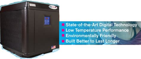 aqua comfort heat pump heat pumps pool heaters aqua comfort effecient and