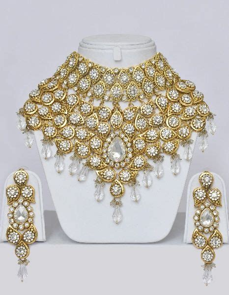 jewelry from india heavy indian bridal jewelry set with