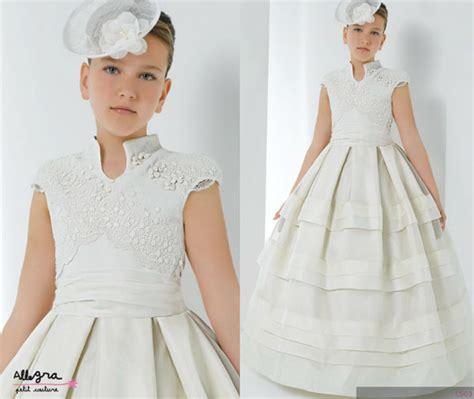 vestidos de primera comuni 243 n 2013 allegra por miquel suay