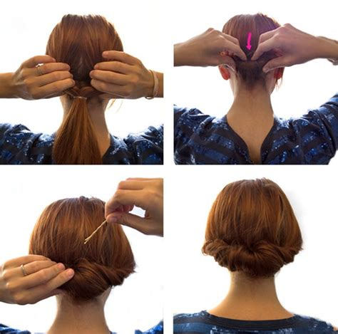 Hairstyles Buns Step By Step by Bun Hairstyles For Your Wedding Day With Detailed Steps