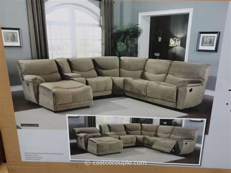 marks and cohen 5 motion fabric sectional
