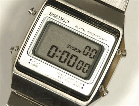 vintage seiko lcd digital model a914 5a39 alarm