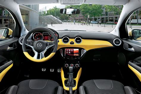 opel adam interior opel adam opc with 180 hp under consideration autotribute