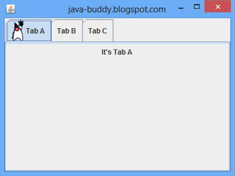 java swing tab java buddy jtabbedpane with icon