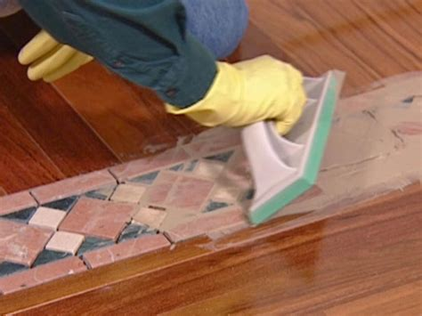 Replace Tile With Hardwood In Kitchen by How To Install A Mixed Media Floor How Tos Diy