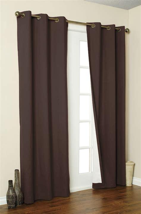 microfiber blackout curtains 2x panels pair microfiber blackout grommet curtain