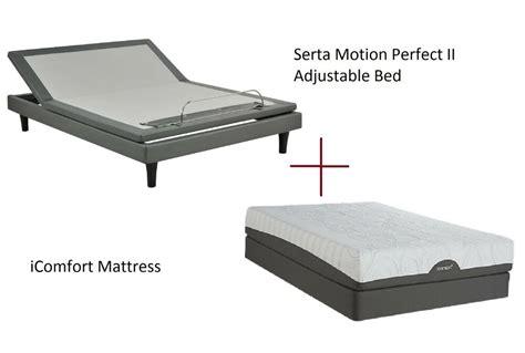 Icomfort Adjustable Bed by Serta Icomfort Motion Ii Adjustable Bed With