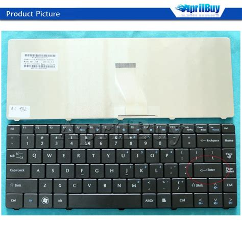 Keyboard Laptop Acer Emachines D725 laptop keyboard for acer 4732 z06 z07 nv40 nv44 emachines d725 d525 us layout buy laptop