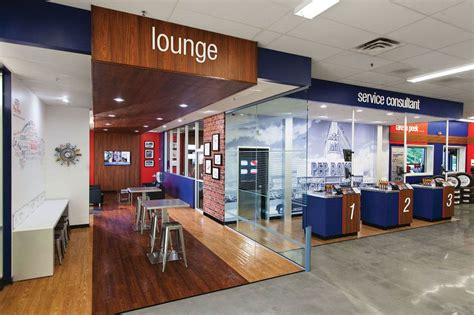 Waiting Room Lounge by Interior Of New Store Custo Pep Boys Office Photo