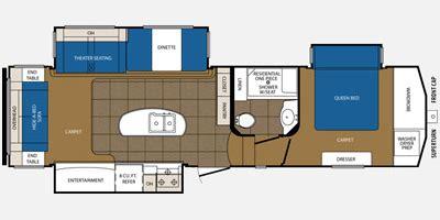 crusader fifth wheel floor plans 2015 prime time crusader fifth wheel