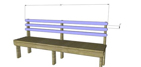 bench with back plans build a vintage wood slat bench designs by studio c