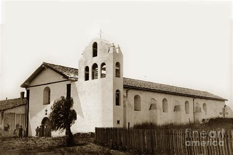 The Pat Search Was Established In The Of Mission Santa Ynez Santa Barbara County California Established 1804 Photograph By