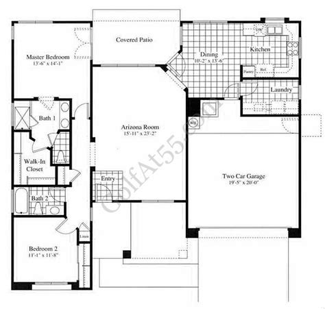 arizona traditions az floor plans models