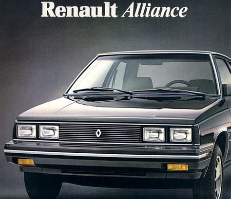 1984 renault alliance 1984 renault alliance sales brochure catalog 84 us r9 amc