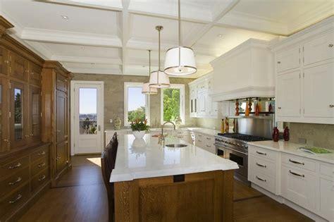 Coffered Ceiling In Kitchen by Coffered Ceiling Kitchen Traditional Kitchen William Design