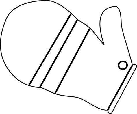mitten coloring page mitten coloring page for free printable picture