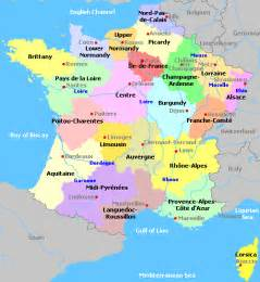 Map Of France Regions by Map Of France Regions Recana Masana