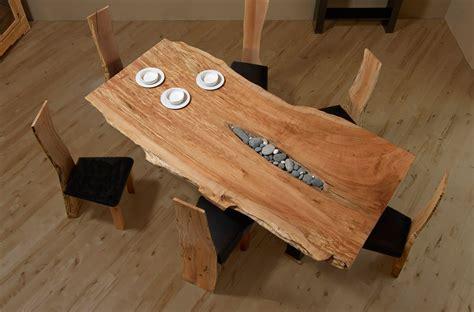 live edge slab table kazalvarez