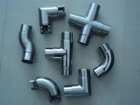Banister Fittings by Aluminum Pipe Aluminum Pipe Handrail