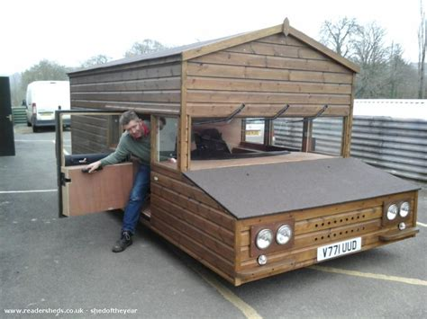 Shed On Wheels shed on wheels built on a volkswagen chassis set to