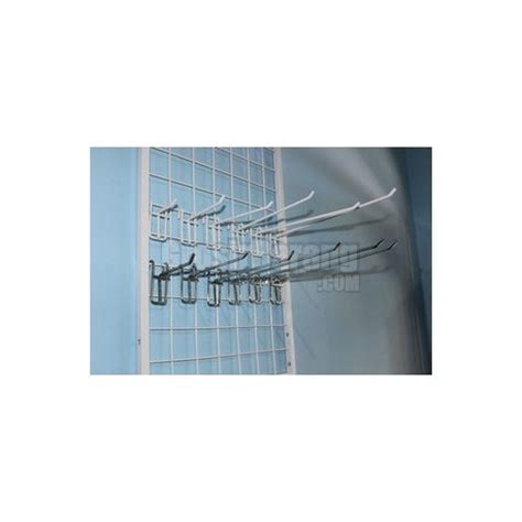 Kawat Ram Plastik gantungan aksesoris toko handphone kaitan ram plastik putih 10 cm grosir display