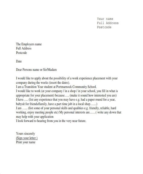 experience letter template word experience letter template letters font
