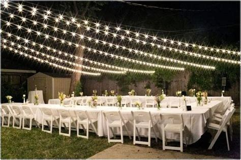 small backyard wedding reception 55 backyard wedding reception ideas you ll love happywedd com