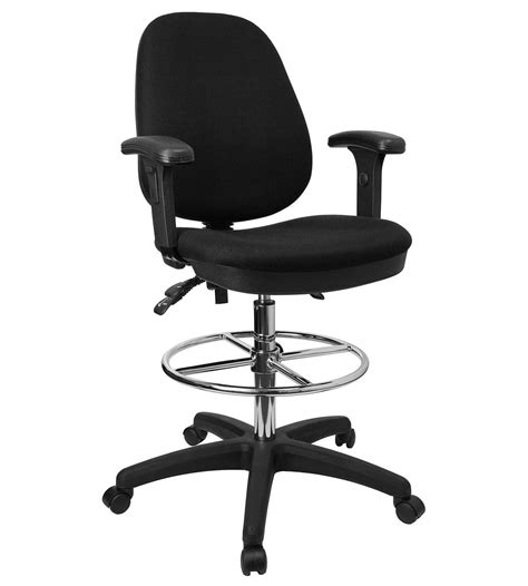 interior swivel and movable drafting chair with floating