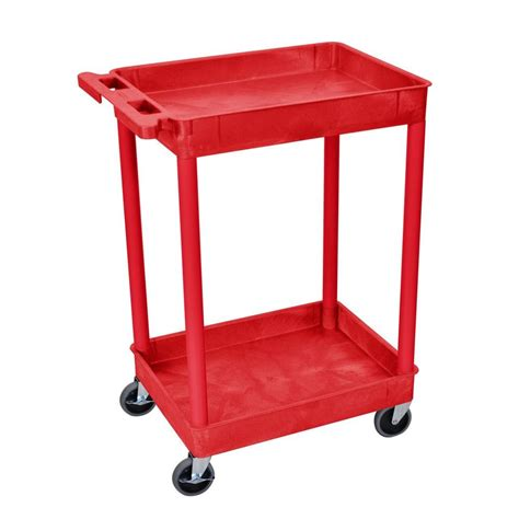 sandusky 21 in 4 wheel utility cart with liner