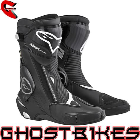 Sepatu Boot Bikers Touring Santai Alpinestar alpinestars s mx plus tex gtx waterproof motorcycle motorbike racing boots ebay