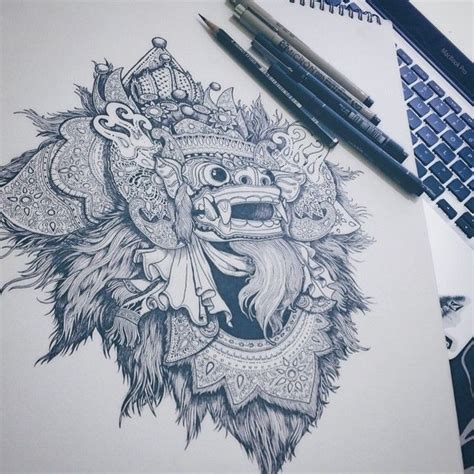 free tattoo tuesday bali 108 best barong tattoo inspiration images on pinterest