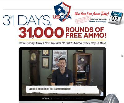 Concealed Carry Association Giveaway - u s concealed carry association giving away 31 000 rounds of ammo