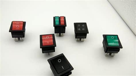 sale taiheng kcd4 6pin illuminated rocker switch