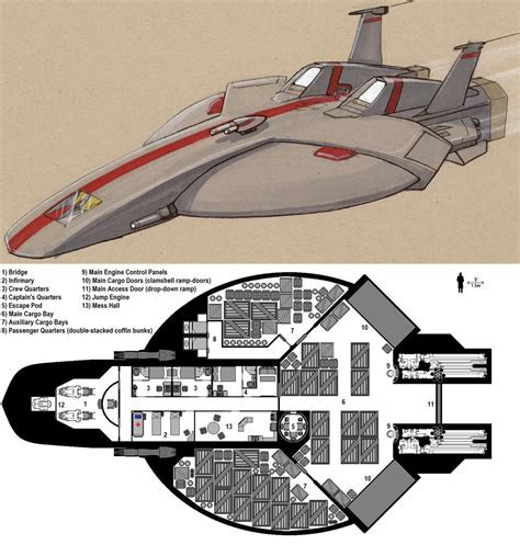 Starship Floor Plans Deck Plans Favourites By Shokuali30 On Deviantart